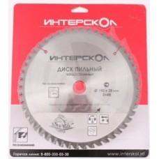 Диск пильный Интерскол по дереву 140*1,6*20*16Т для дисковой пилы