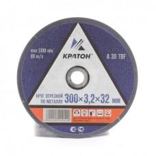 Диск отрезной Кратон по металлу 300*3,2*32 мм