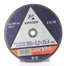 Диск отрезной Кратон по металлу 355*3,2*25,4 мм