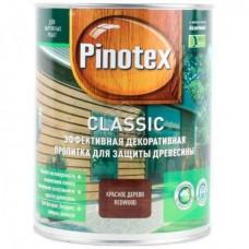 Пропитка Pinotex Classic, № 07 махагон (красное дерево), 1 л
