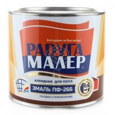 Эмаль Радуга ПФ-266 желто-коричневая 1,9 кг