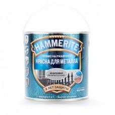 Краска молотковая HAMMERITE серебристо-серая 2,2 л