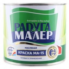 Краска Радуга МА-15 серая 1,9 кг