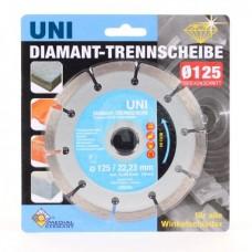 Алмазный диск Fubag Medial 125*22,23 мм универсальный