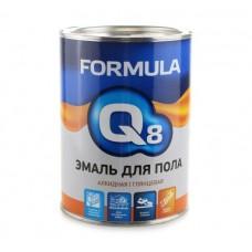 FORMULA Q8 Эмаль ПФ 266 красно-коричневая 0,9 кг (7/14)