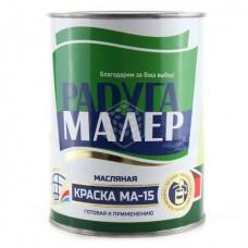 Краска Радуга МА-15 ярко-зеленая 0,9 кг