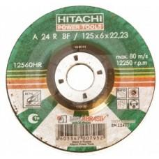 Диск обдирочный шлифовальный Hitachi 150*6*22 мм