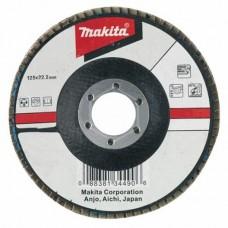 Диск лепестковый Makita D-27676, 125х22 мм, К36, для ровной поверхности