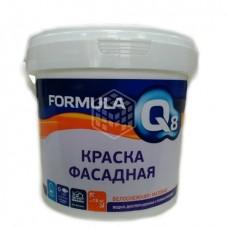 Краска фасадная белоснежная Formula Q8 3 кг